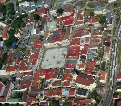 MPR celkový pohled - letecký snímek