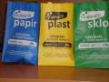 Tašky natříděný odpad