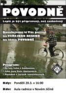 Nový Jičín zve na besedu o povodních a protipovodňové ochraně