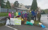 Dobrovolníci nasbírali 400kg odpadu
