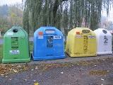 Mapa kontejnerů natříděný odpad