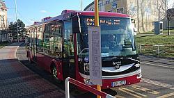 MHD elektrobusy