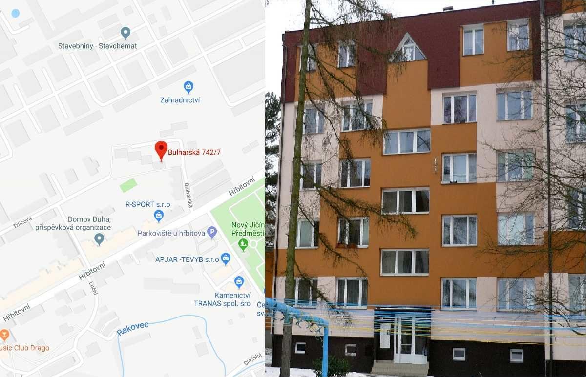 Pronájem bytu 2 + 1, Bulharská 7