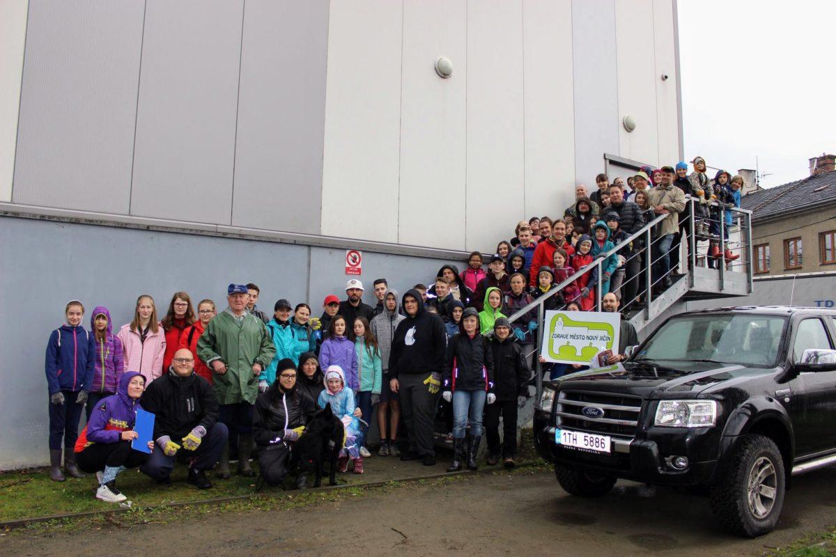 Do akce Ukliďme Nový Jičín se zapojilo 90 dobrovolníků