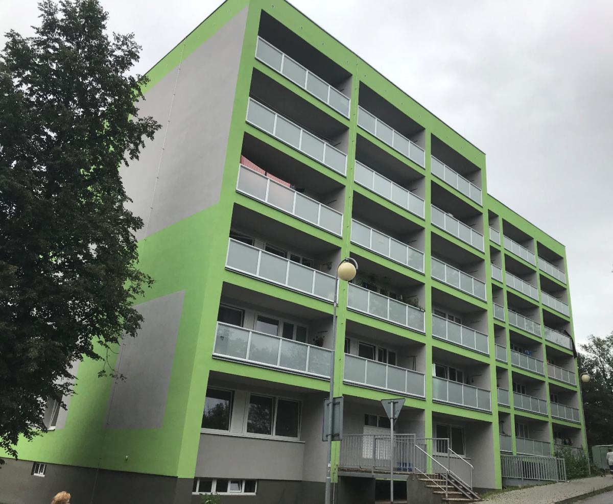Revitalizace bytového domu Revoluční 36 vNovém Jičíně