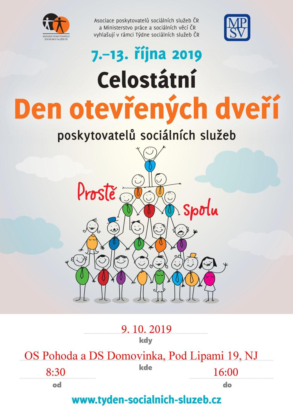 Den otevřených dveří poskytovatelů sociálních služeb