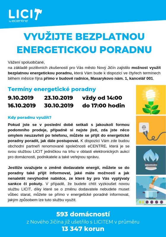 Bezplatná energetická poradna