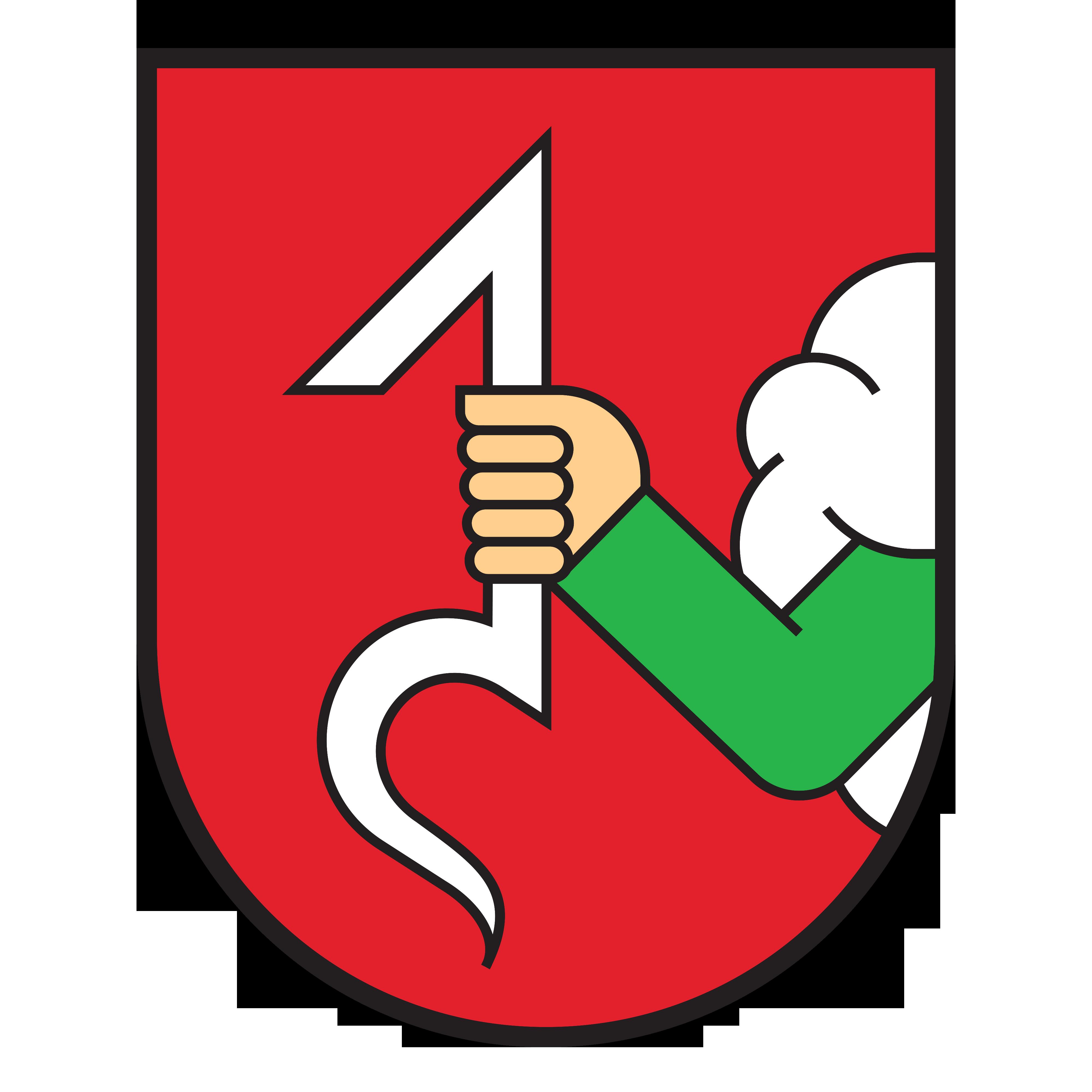 Znak Nového Jičína bez textu - JVS