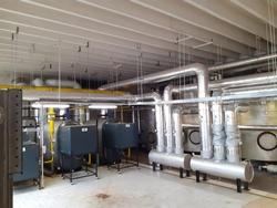 Rekonstrukce plynové kotelny v Loučce